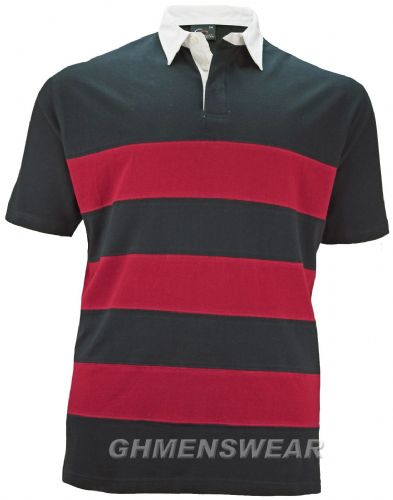 PERFECT COLLECTION  Short Sleeve Rugby Shirt